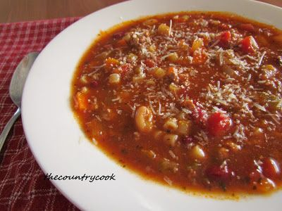 Crock Pot Olive Garden Pasta E Fagioli Soup Recipe Gardens Olives And Stove