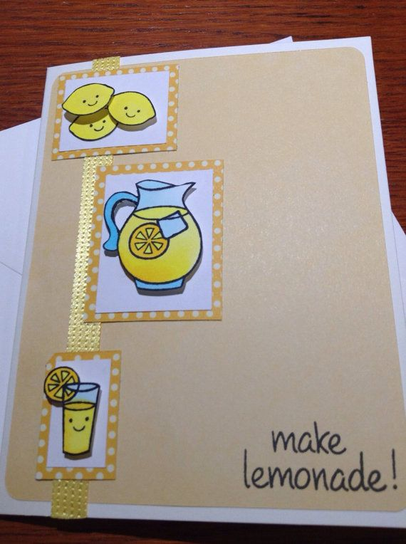 Cheer someone up with some lemonade!