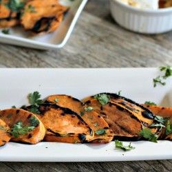 Grilled Sweet Potatoes | Side dishes | Pinterest | Grilled Sweet ...