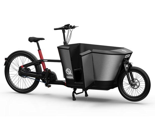 Carqon Electric Cargo Bike Luxurious Cargo Bike For Trendy Parents Cargo Bike Electric Cargo Bike Design Awards