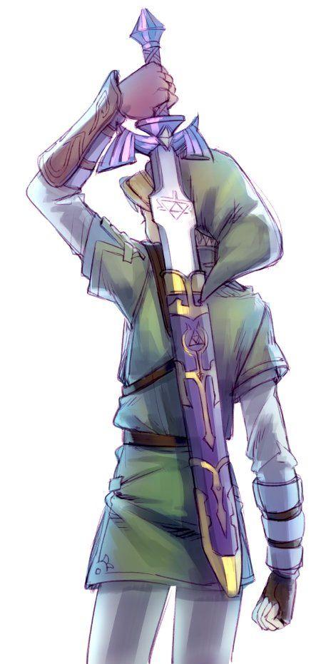 Link avec épée
