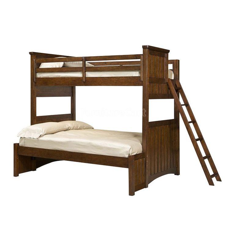 Dawsons Ridge Twin Over Full Bunk Bed Legacy Classic Kids   Furniture Cart