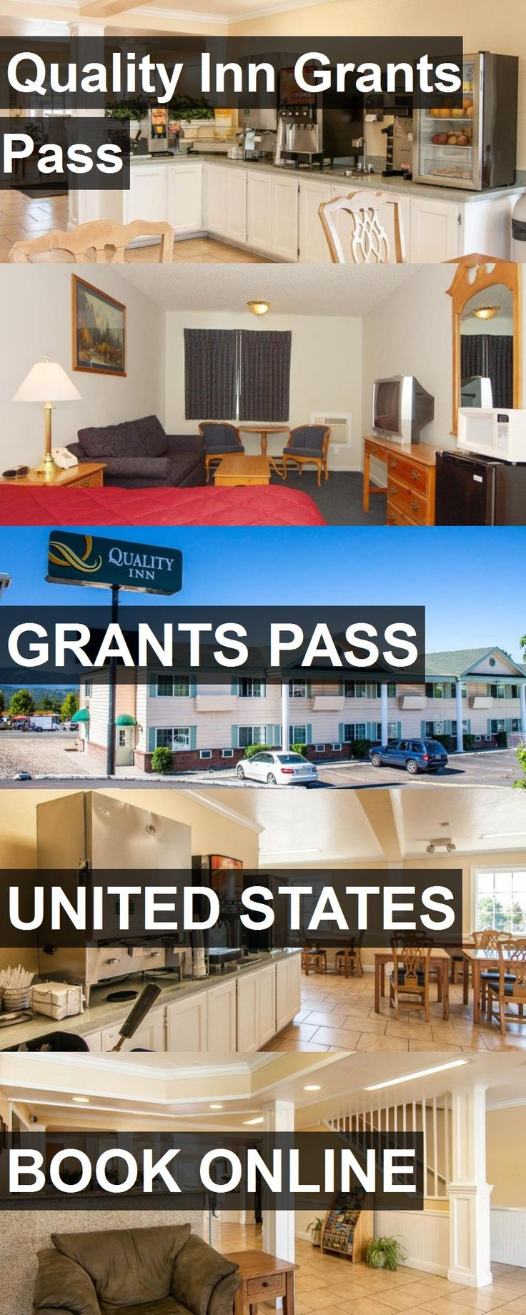 Hotel Quality Inn Grants Pass in Grants Pass, United States. For more information, photos, reviews and best prices please follow the link. #UnitedStates #GrantsPass #travel #vacation #hotel