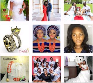 Wedding inspiration:10 Instagram Accounts to Follow for Fabulously Filtered Nigerian Wedding ideas  Social media is where it is all happening: You can see your friends' antics on Facebook stalk celebs on Twitter and pin away ideas to our hearts' content on Pinterest. But when it comes to swoonable images unique ideas and sussing out vendors Instagram is most definitely where the Wedding Party is happening .  But when it comes to being inspired for your wedding day these are just some of our…