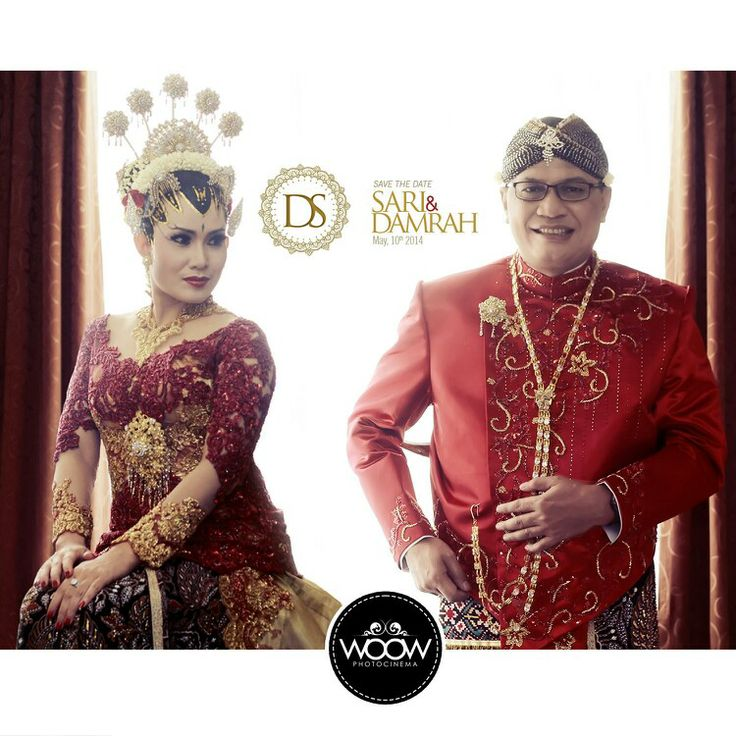 Sari & Damrah - wedding day, The Groom and The Bride, Traditional, Javanese, Solo, Indonesia