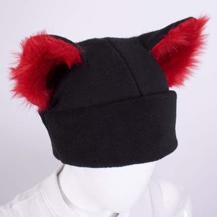 Furry Ear Cat Hat