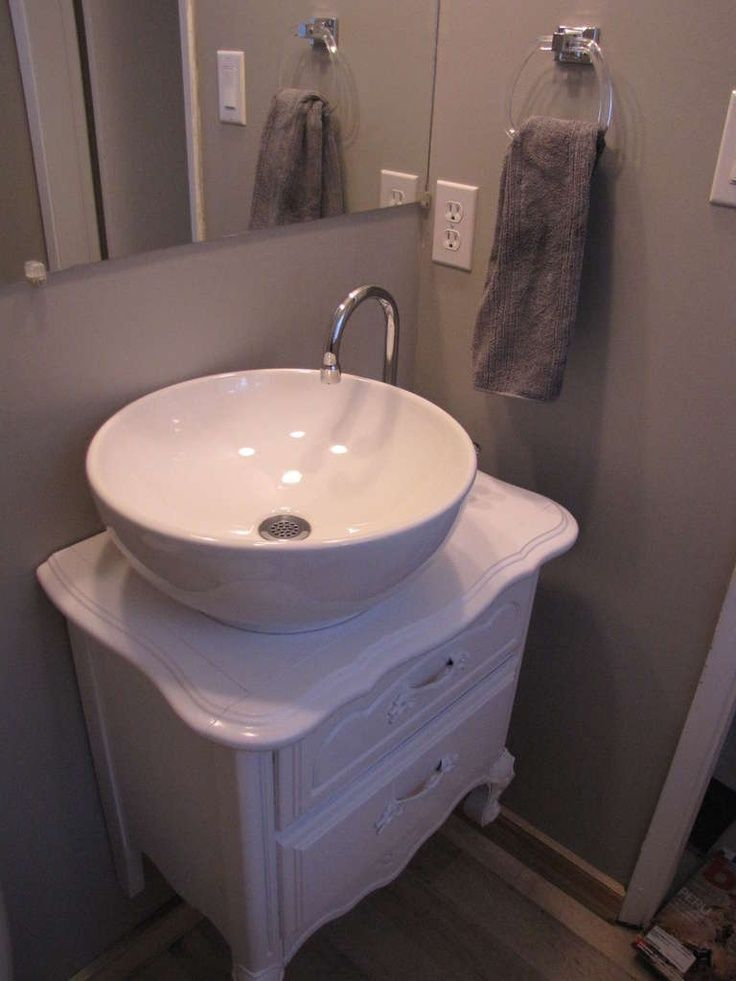 Best Cheap Bathroom Ideas Images On Pinterest Bathroom Ideas - Diy bathroom vanity unit