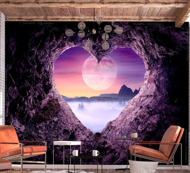 Kanske något romantiskt? #fototapeter #fototapet #romantik# #kärlek #romans #hjärta #bimago