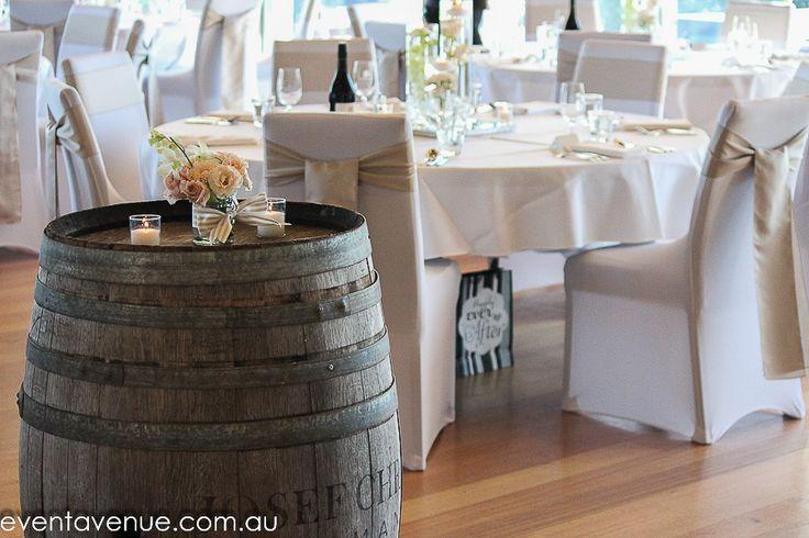 Table design, wine barrel #eventavenue #josefchromywines