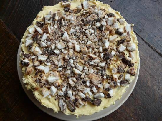 Een lekkere taart die snel en gemakkelijk te bereiden is.
