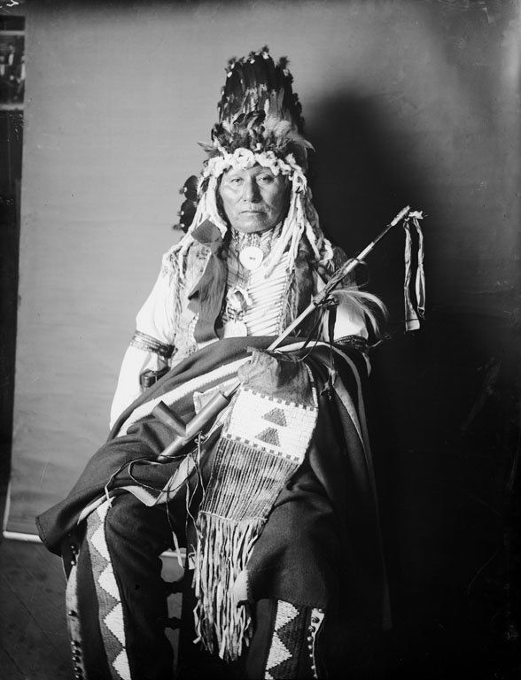 Yellow Thunder Yankton Dakota 1905 Indios Lakota