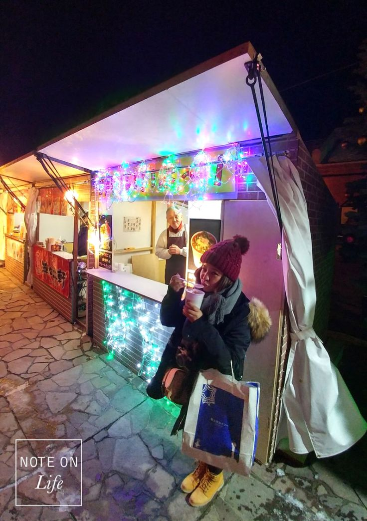 Hakodate Christmas Festival Soup Bar Hokkaido Japan Travel
