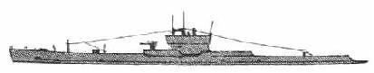SUBMARINO COSTERO Mitsubishi Tipo 1 Construidos en los Astilleros Mitsubishi de Kobe, se emplearon como submarinos oceánicos. Se construyeron 9 unidades (Ro-60 a Ro-68)