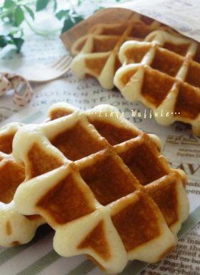 「【天然酵母】リエージュワッフル。」ChococoHS | お菓子・パンのレシピや作り方【corecle*コレクル】