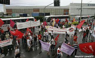 Pregopontocom Tudo: Desligamentos na Embraer mostram gravidade do mercado de trabalho no país,diz sindicato...