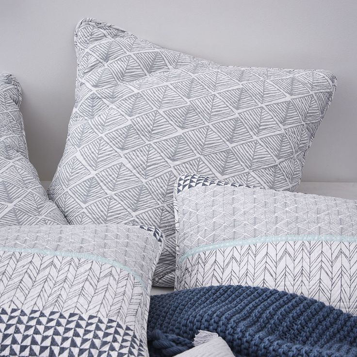 A quilted, panel design that incorporates contemporary patterns, the Jetta quilt cover is a great option for gender neutral styling. The quilted texture means you can use with or without a quilt depending on the season.
