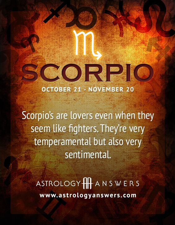 Guess what......im Scorpio