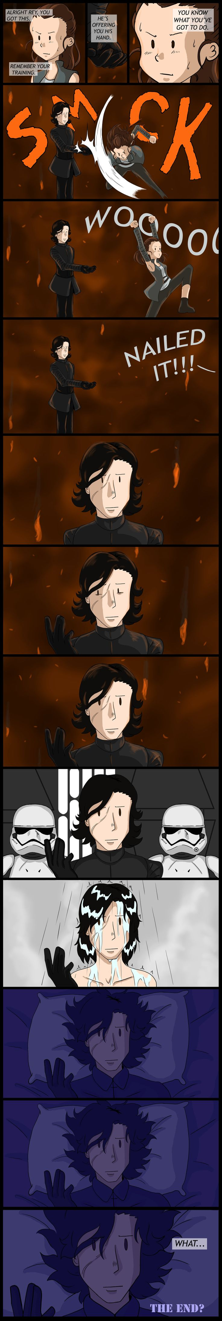 Star Wars The Last Jedi: What are hands for? by ShadowHellfire