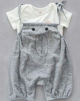 Overall mit passendem Shirt PUPPY - buy online at www.ratzfatz-kindermoden.de