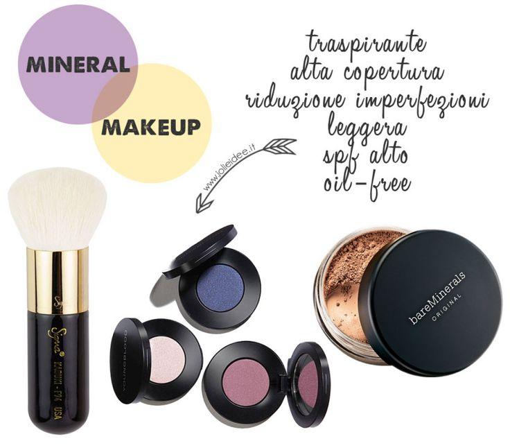 Trucco Minerale - Cos'è come riconoscerlo come applicarlo e i vantaggi #mineralmakeup #makeup