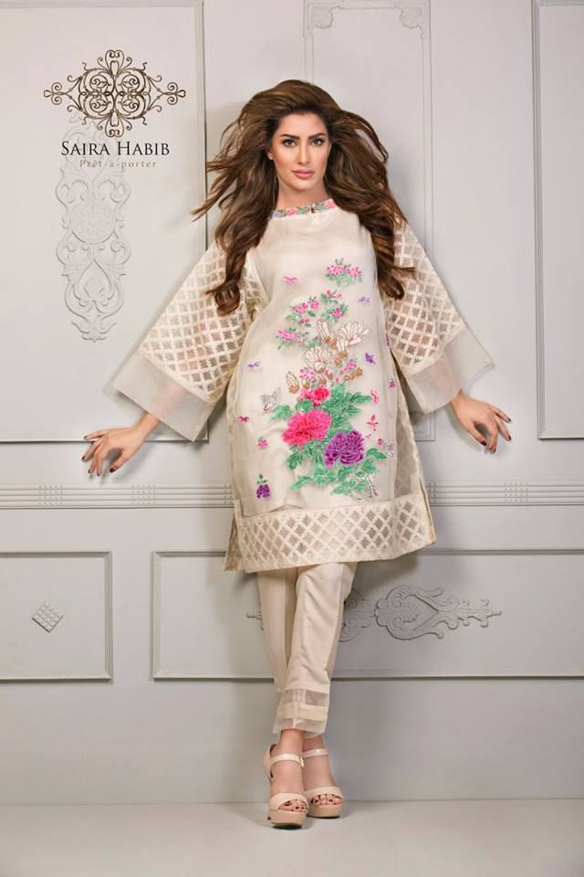 Saira Habib Eid Lawn is limited design collection that is launched for this festive season see all the designs from the gallery and get inspired from these art work.