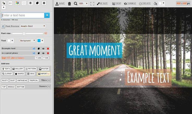 PicFont es una impresionante utilidad web gratuita para crear bonitas imágenes con textos para compartir. Podemos descargarlas como JPG, PNG y PDF.