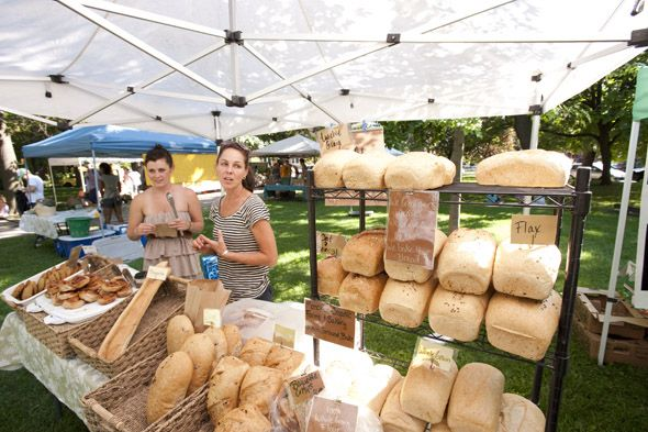 The Trinity Bellwoods Farmers' Market