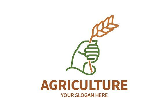Agriculture Logo by PieGraphix on @creativemarket