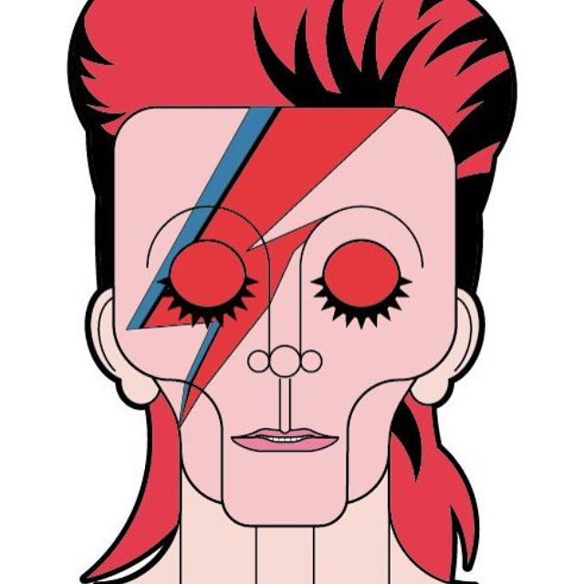 #davidbowie #bowie #ziggy #ziggystardust #red #star #stardust #lighting #pop #hero #legen #duke #whiteduke #thethinwhiteduke #bau #mattiavegnibau #graphic #illustrator #portrait #illustration #art #beauty