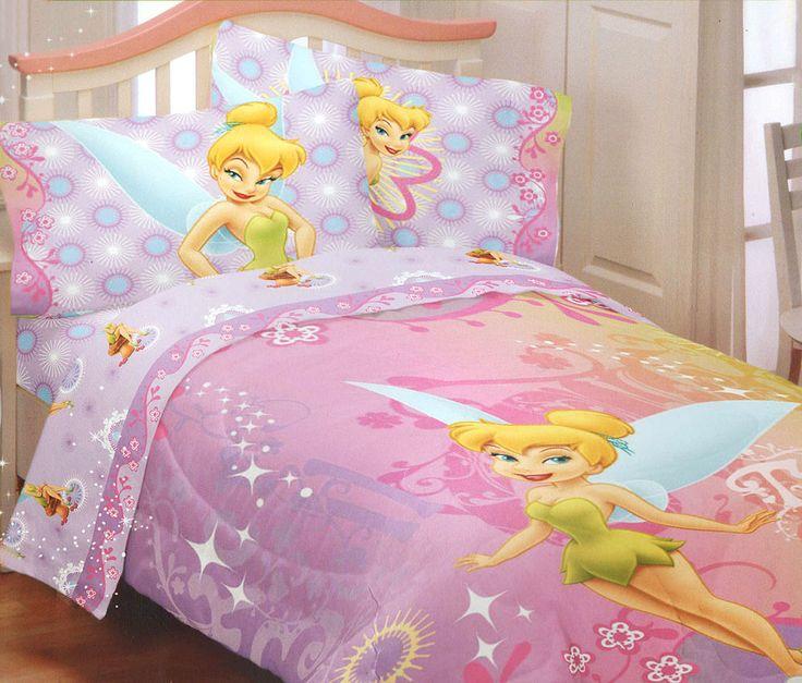 Tinkerbell Toddler Bedding Set