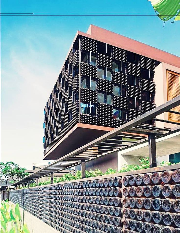 Bottle House in Bandung, Indonesia by Ridwan Kamil. Art & Interior Design  Posted by Putri Yehkwah