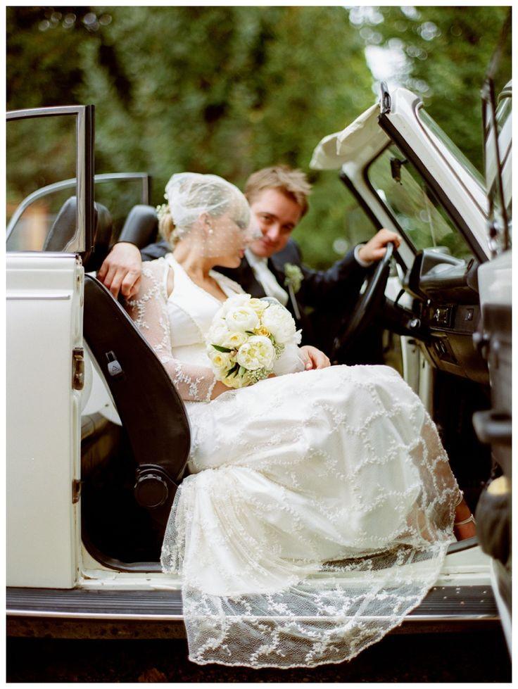 Vintage wedding - contax645 kodak portra 400