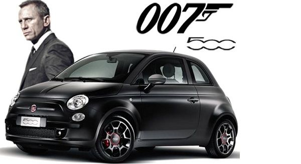 James Bond to Trade In His Aston Martin for a Fiat 500 - http://www.carnewscafe.com/2014/12/01/james-bond-trade-aston-martin-fiat-500/