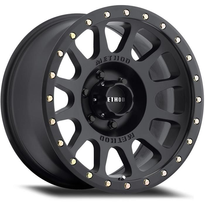 The matte black finish Mesh gives a nod to the original Standard with its understated and timeless styling. Around the lip of the wheel are fully replaceable 13mm decorative polished bolts.  http://ttf.com.au/buy/wheels-tyres-car-service/242263/method-racing-method-race-wheels-mesh-20x9-6x139-matte-black-wheel
