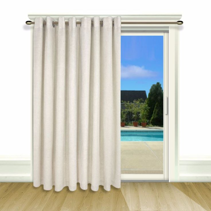 Enjoy a sophisticated style in your home with the New Castle lined patio  panel. This - 25+ Best Ideas About Patio Door Curtains On Pinterest Sliding