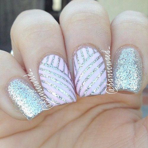 Home Blend Of Bites Nail Designs Volleyball Nails Pretty Nails