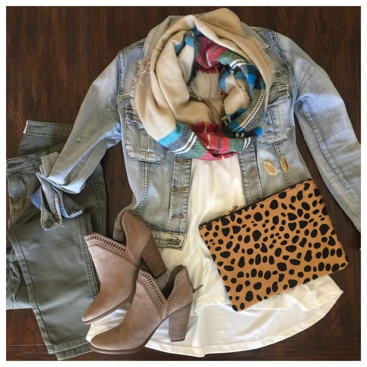 Plaid and Leopard!  PERFECT fall outfit!