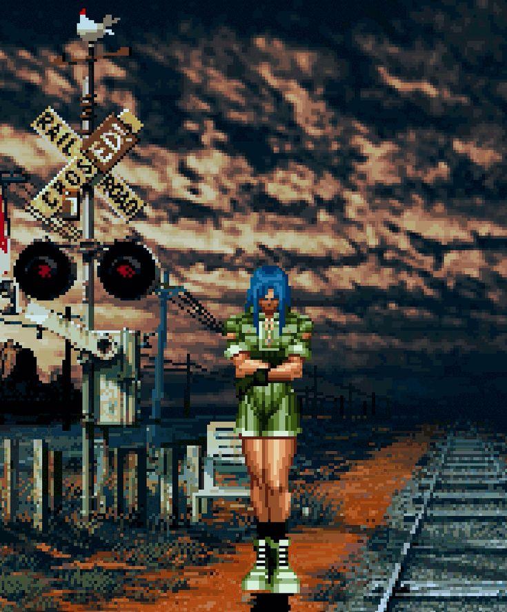 "kazucrash:  ""  The King of Fighters '96  Publisher: SNK Playmore  Developer: SNK  Platform: Arcade, Neo Geo, Neo Geo CD, Saturn, PlayStation, PlayStation 2, PlayStation Portable, Wii  Year: 1996 (Arcade, Neo Geo, Neo Geo CD, Saturn), 1997 (PS1), 2006 (JP..."