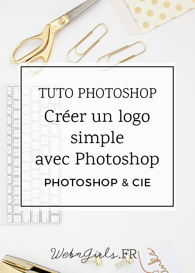 creation logo a partir d'une photo