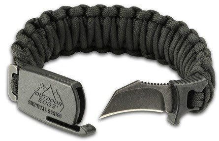 DENVER (Jan. 24, 2017) — Outdoor Edge has put a sharp new twist on the popular survival paracord bracelet with the introduction of the new Para-Claw.