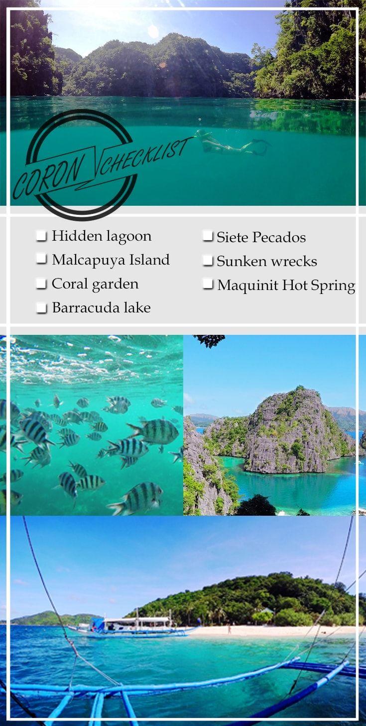 Coron travel must-do checklist