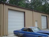 Pictures from large steel garages to small garage kits