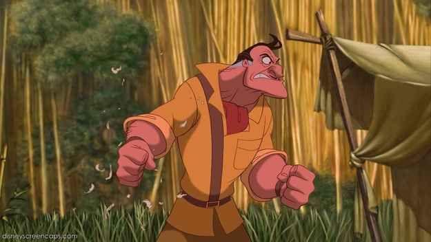 Clayton, Tarzan | A Definitive Ranking Of The Top 20 Disney Villains