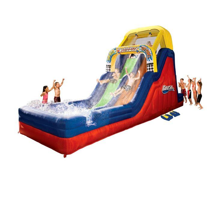 Banzai Double Drop Raceway water Slide