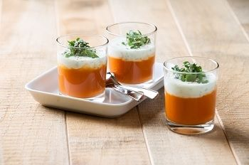 Leuke serveertip voor de tomatensoep