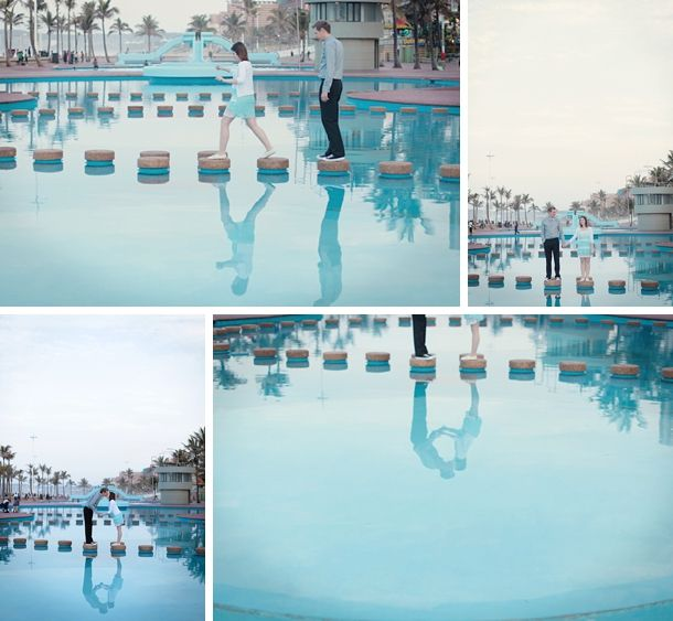 durban beachfront engagement shoot | Pickle Photography