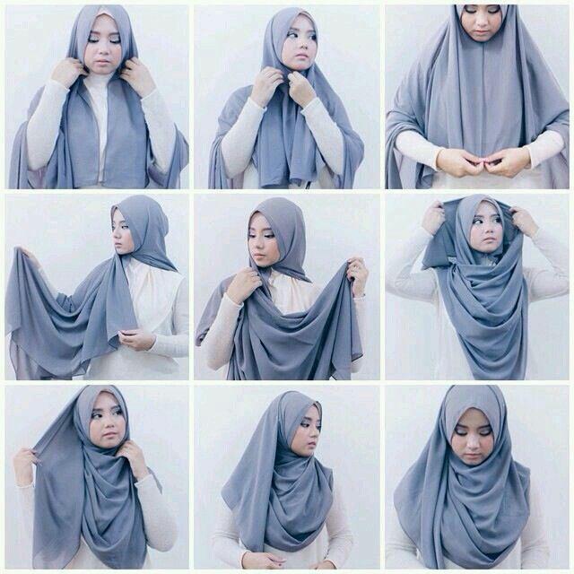 Şal baglama..hijap tutorial..hijap shawl