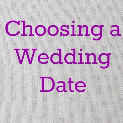 How to pick a wedding date