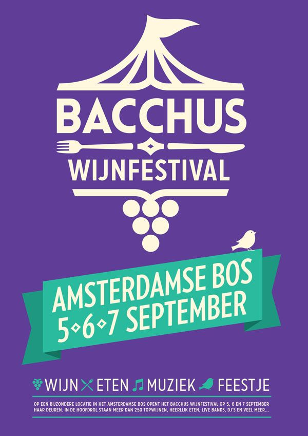 delogie - Bacchus Wijnfestival - 5, 6, 7 september 2014 - Amsterdam - Amsterdamse Bos - 250 wijnen open - muziek - wines - rollende keukens