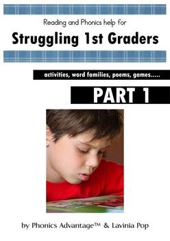 Reading and Phonics Help for Struggling 1st Graders - Activities ...